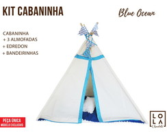Kit Cabaninha - Blue Ocean