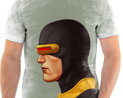 Camiseta Camisa X-Men Ciclope Scott Summers Ful Hd 2