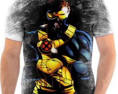 Camiseta Camisa X-Men Ciclope Scott Summers Ful Hd 4