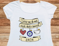 T-Shirt Livrai-me do Mal