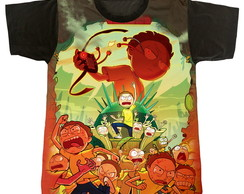Camiseta - Rick r Morty - Mortys