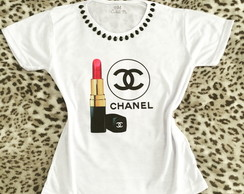 Baby look Customizada - Chanel Batom