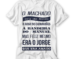 Camiseta O Machado Era de Assis