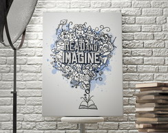 Poster Leia e Imagine!