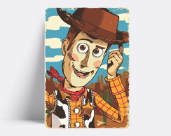 Placa decorativa / TOY STORY WOODY 229