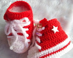 Tenis All Star Baby Croche