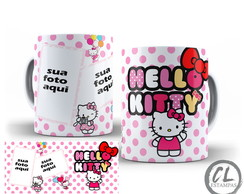 Caneca Hello Kitty com Foto