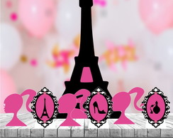 Kit 7 Totem Display Festa Barbie Paris