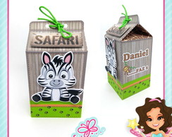 Caixa Milk Safari