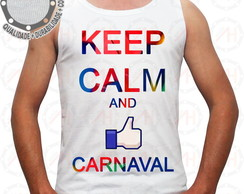Camiseta Carnaval Camisa Keep Calm ah00365