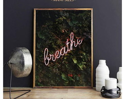 POSTER BREATHE - ARTE DIGITAL
