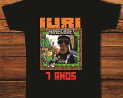 camiseta d e aniversario do iuri