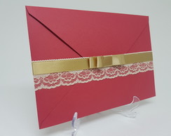 Envelope com renda