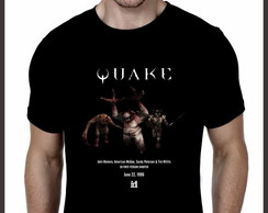 Camiseta Geek Games Quake