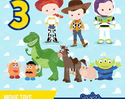 Kit Digital Toy Story 13