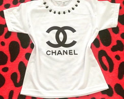 Camiseta Infantil Customizada - Chanel