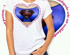 Camiseta Feminina Super Girl
