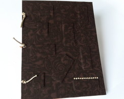 Caderno Planner Permanente com Costura Manual