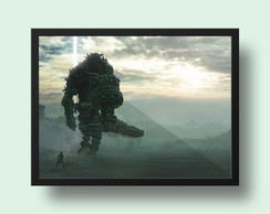 Quadro Shadow of the Colossus PS4