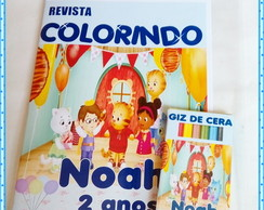 kit colorir Daniel Tiger