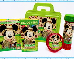 Kit Maleta Mickey Safari