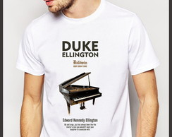 Camiseta Jazz Duke Ellington Piano Baldwin