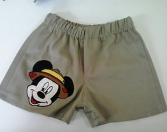 Shorts mickey Atacado