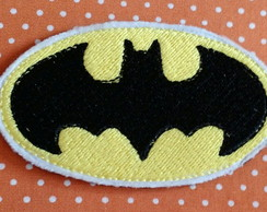 APLIQUE BORDADO PATCH BATMAN