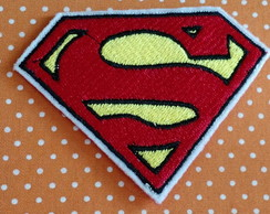 APLIQUE BORDADO PATCH SUPERMAN