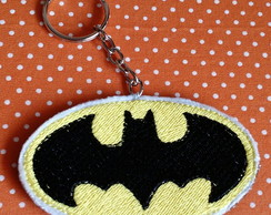 CHAVEIRO BORDADO PATCH BATMAN
