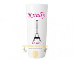 Copo Long Drink Torre Paris Personalizado mod2