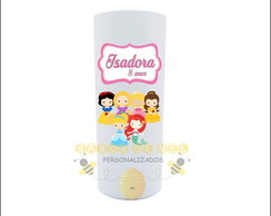 Copo Long Drink Princesas Cute/baby Personalizada