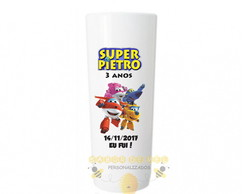 Copo Long Drink Super wings Personalizado