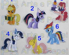 Aplique My Little Pony Festa 5cm