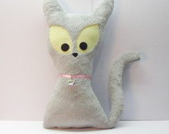 Toy Art - Gato Cinza