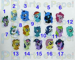 Aplique My Little Pony 3,5cm