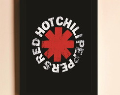 Poster com Moldura Red Hot Chilli Peppers