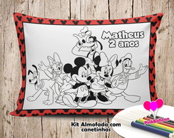 MINI ALMOFADA COLORIR 15X20 MICKEY