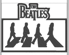 patch aplique Beatles