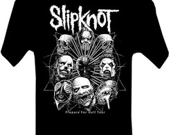 CAMISETA MASCULINA ADULTO SLIPKNOT BANDAS ROCK