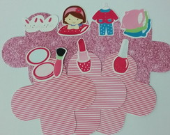 Kit forminha Festa do pijama - 100 unidades