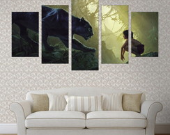Quadro Decorativo Canvas - Animais - C5MAN07