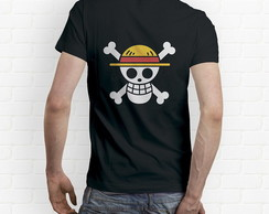 Camisa Jolly Roger Luffy - One Piece