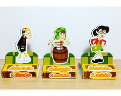 Porta Chocolate Duplo tema Chaves
