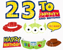 Kit Digital Toy Story 78