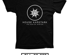 Camiseta Game of Thrones GOT Stark