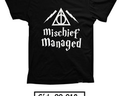 Camiseta Harry Potter Mischief Managed