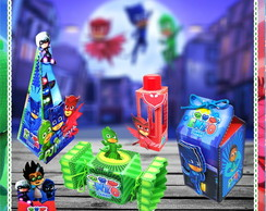 Pj masks kit festa infantil