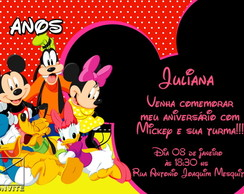 CONVITE DIGITAL TURMA DO MICKEY