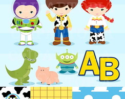 Kit Digital Toy Story 133